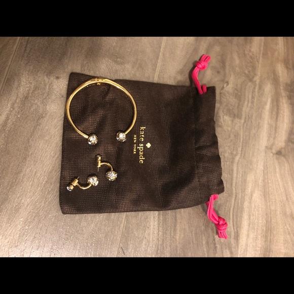 Bracelet and earrings (set)
